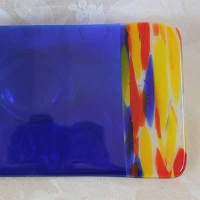 Fused glass work by Cheryl Ayer