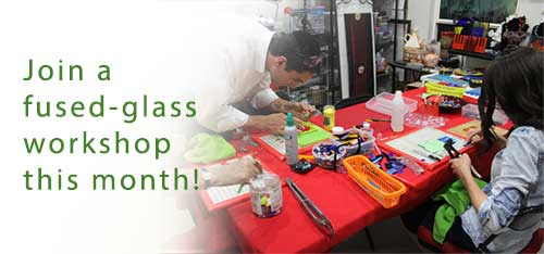 Ayer of Glass workshop